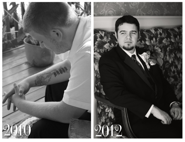 JennMarie Photography - Wedding Photography - Spartanburg, SC - Groom Before and After