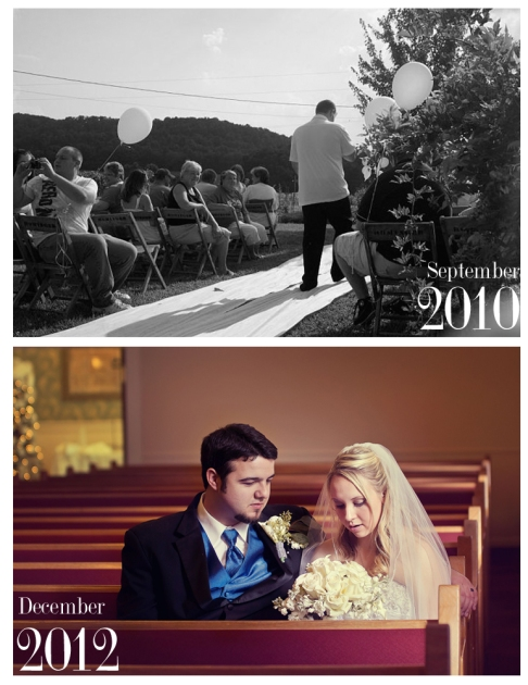 JennMarie Photography - Wedding Photography - Spartanburg, SC - Wedding Before and After