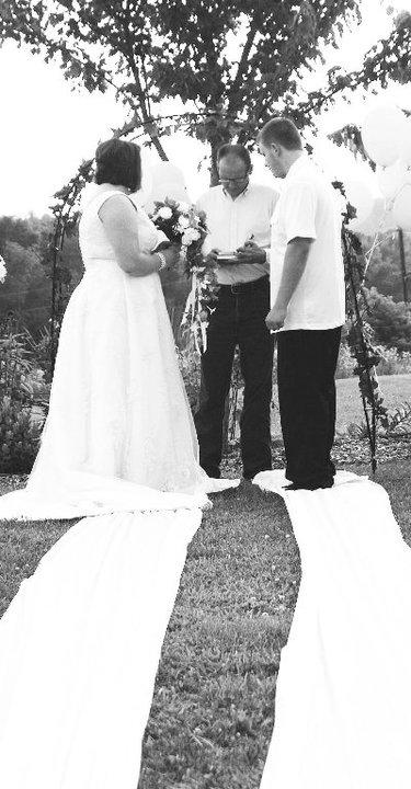 First Wedding - JennMarie Photography